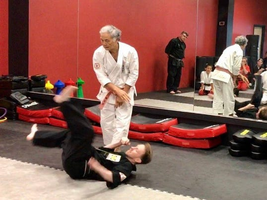 'Deadliest martial artist' visits Rockaway dojo