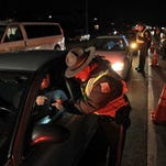 Sobriety checkpoint in Arnold, Mo., in 2013.