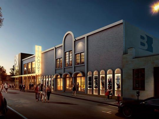 Rendering of the Belcourt Theatre