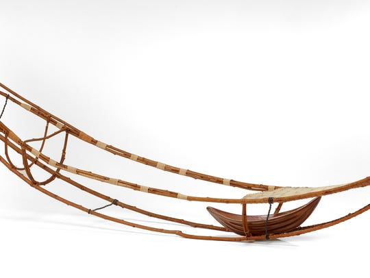 """Onward"" by Heather Allen Hietala is made of willow,"