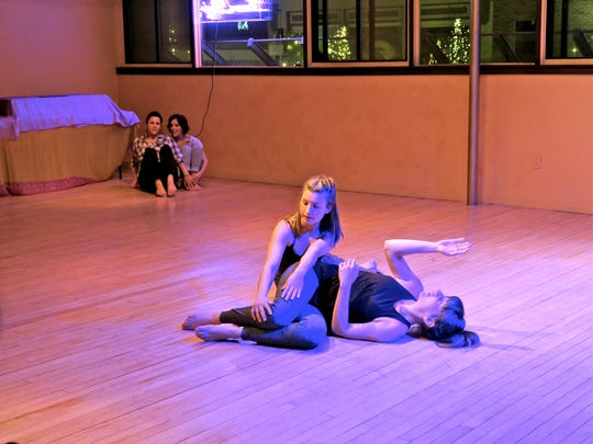 """Ergo Movement presents its performance """"Inside Out Side In"""" Friday in Burlington."""