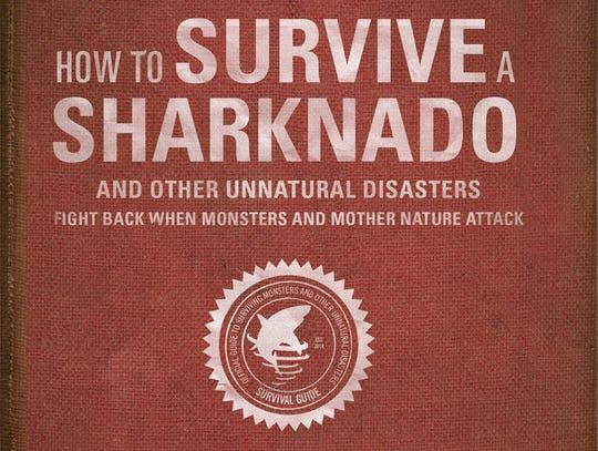 XXX SHAFFER-SURVIVE-SHARKNADO-BOOKS-jy-845-