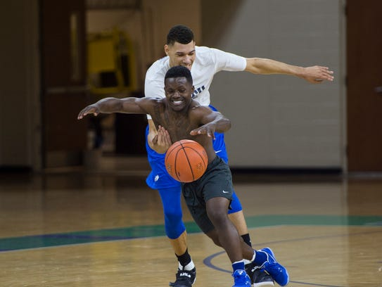 New FGCU point guard Darnell Rogers is seriously fast.