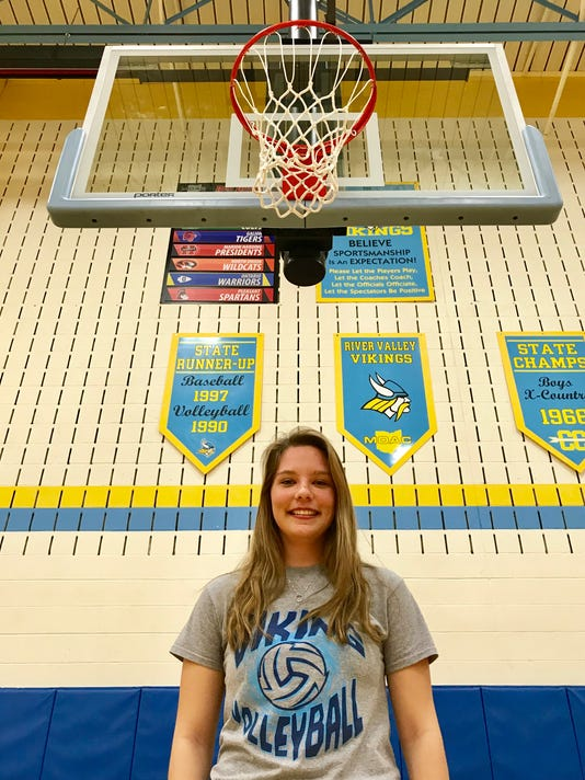 Fahey Bank Athlete of the Month Alexis Stevens
