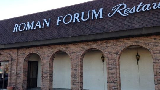 Roman Forum Restaurant in Canton has ended its 38-year run.