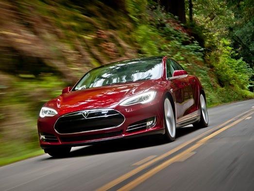 "Strategic Vision names Tesla ""Best Model"" of 2013 on its Total Quality Awards List"