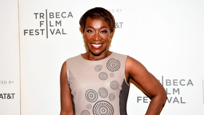 "In this April 20, 2018 file photo, Joy Reid attends the Tribeca TV screening of ""Rest in Power: The Trayvon Martin Story"" during the 2018 Tribeca Film Festival in New York."