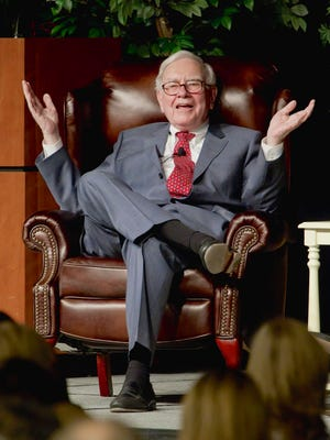 Warren Buffett brims with optimism in his annual letter to shareholders on Feb. 28, 2015.