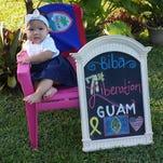 "Richard Patricia Fetzer shared this photo of ""The Guam GG's"" of North Carolina wishing Guam a Happy 71st Liberation Day."