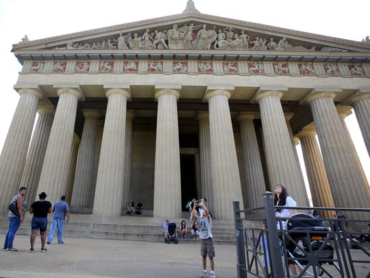 The Parthenon in Nashville is one of 28 museums across the state that will offer free admission as part of the Smithsonian's annual Museum Day program on Sept. 21.