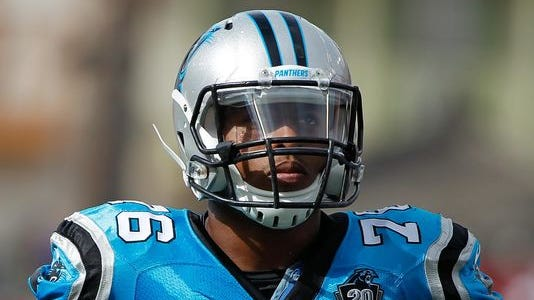 Panthers defensive end Greg Hardy was found guilty of domestic assault but has appealed that verdict.