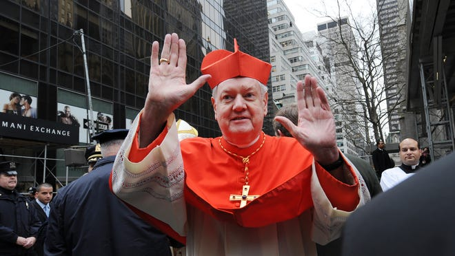 Cardinal Edward Egan in 2009 in New York City after his retirement as archbishop of New York. He had headed the archdiocese since 2000. Egan died March 5, 2015. (Photo by Susan Watts-Pool/Getty Images)