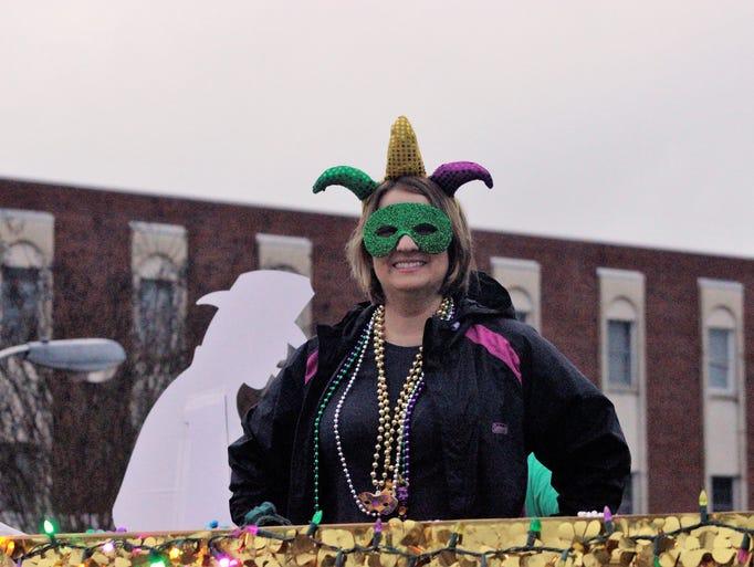 2018 Ruston Mardi Gras Parade and Festival.