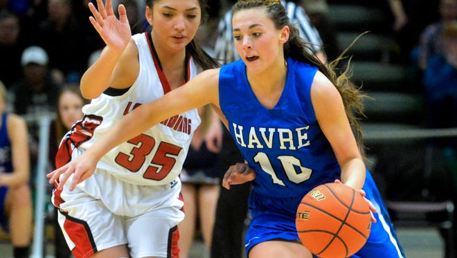 Kyndall Keller and the Havre Blue Ponies will be in Great Falls this weekend in search of a second consecutive State A championship.