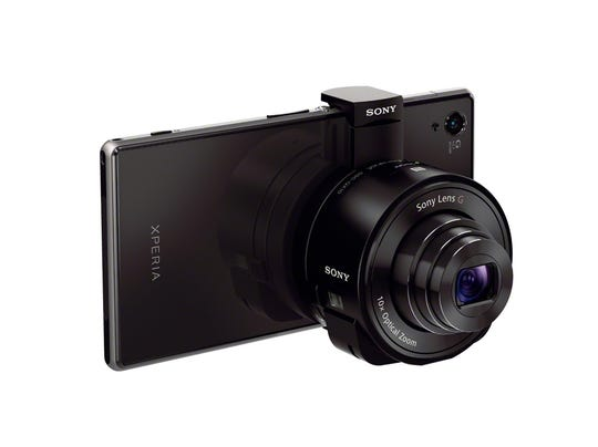 Sony QX10 Camera Test