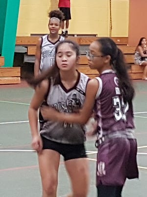 The Guam Youth Basketball Association held games in the Under-15 Girls Division July 10 at the Astumbo Gym in Dededo.