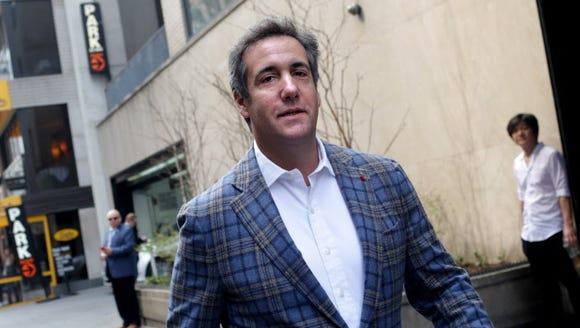 Michael Cohen, President Trump's personal attorney,