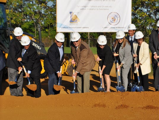 Lyndhurst Jr. High groundbreaking