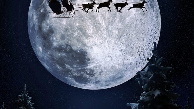 Santa stopping at all children's homes is simply magic.