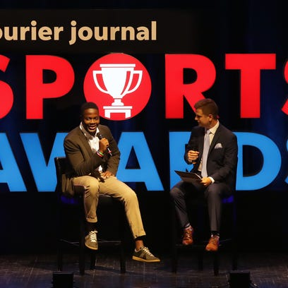 Teddy Bridgewater offers advice at Courier Journal Sports Awards