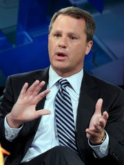 Walmart President and CEO Doug McMillon is interviewed for a program on the Fox Business Network  June 23, 2015.
