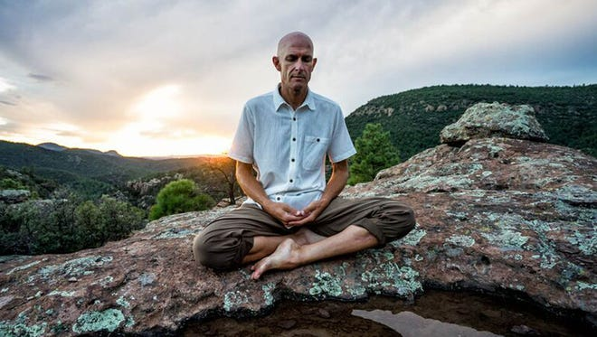 """Jeff Goin will teach a series of """"Meditation for Beginners"""" classes at the Lotus Center, starting on Monday. Goin says in spite of popular opinion, people do not have to sit in uncomfortable positions  to meditate."""