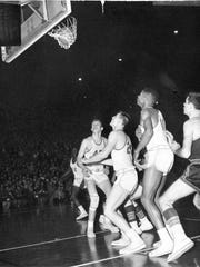 Bobby Plump's last-second shot for Milan High School over Muncie Central on March 20, 1954, in the state finals, secured the state basketball championship for the small Indiana school.
