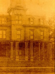 The Diven home, built in 1867, acquired by the Christian