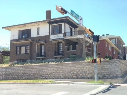 """This house at 1701 N. Stanton, owned by William """"Billy"""" Abraham, was sold Tuesday for $235,000 in a federal bankruptcy court auction in El Paso."""