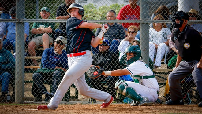 Grace Brethren's Gunner Hellstrom earned Most Valuable Player honors in the Tri-Valley League.