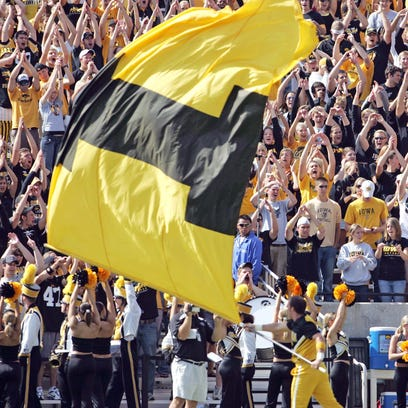 Fans attending Saturday's Iowa-Illinois State game