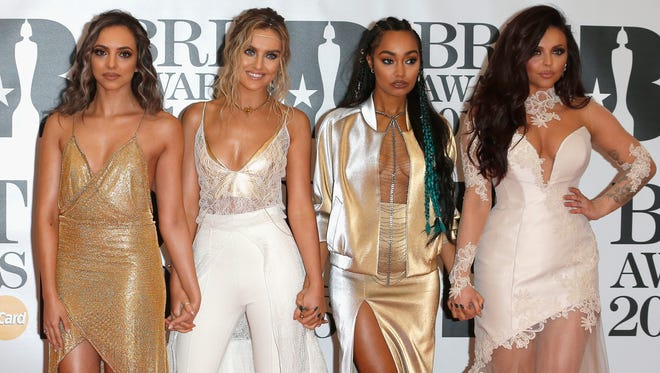 Jade Thirlwall, Perrie Edwards, Leigh-Anne Pinnock and Jesy Nelson of Little Mix.