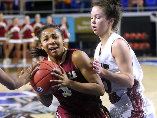 Riverdale's Anastasia Hayes (3) was named to The Daily