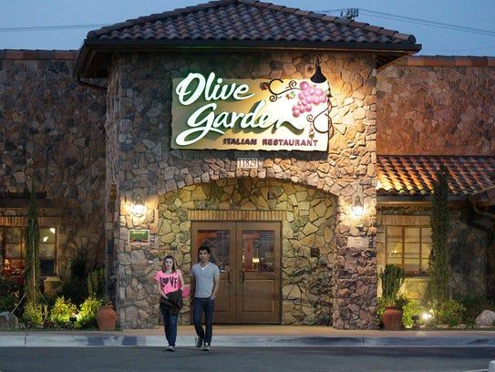 Olive Garden, seen here in Short Pump, Va., in May