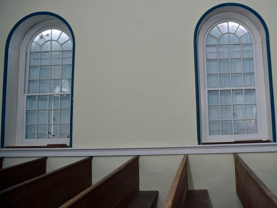 Windows were recently replaced at Rocky Spring Presbyterian