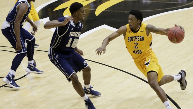 JSU guard Raeford Worsham and his teammates turned in a solid defensive effort on Tuesday night against USM.