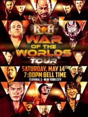 The event poster for Ring of Honor's show in Manhattan on Saturday. Courtesy Ring of Honor.