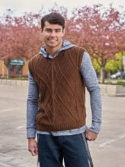 I see the Edwin Vest as a unisex piece, with plenty