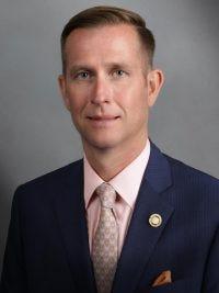 State Sen. Justin Brown, R - Rolla
