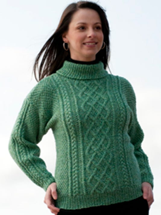 More free Aran patterns for St. Patrick\'s Day