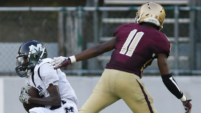 McKean's DeVon Taylor, seen in this file photo, ran for a touchdown and passed for another in the Highlanders' 18-8 win on Saturday.