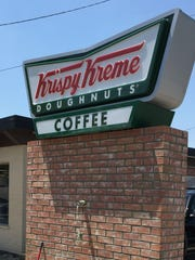 Buy a dozen, get a dozen deal going on through Jan. 26 at Krispy Kreme.