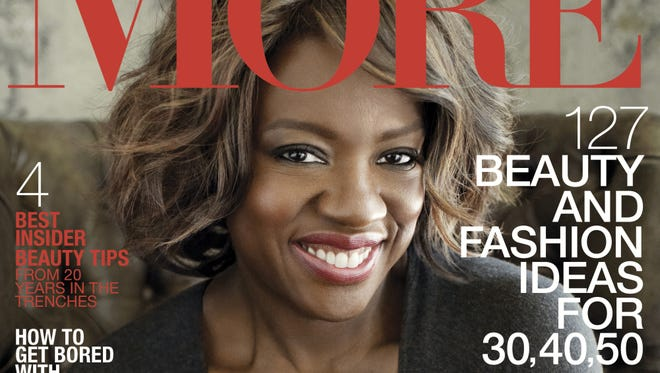 """Viola Davis covers the Sepptember issue of """"More."""""""