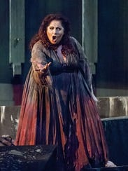 "Christine Goerke as ""Elektra"" in Michigan Opera Theatre's"