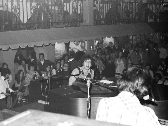 Young Piano Man: Vintage images of Billy Joel's 1974 concert at Lafayette's Music Room.