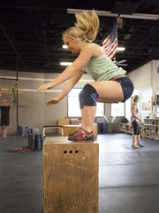 Brielle Atkin has been working out at the Crossfit St. George location for several years now. On top of her busy schedule, Atkin also teaches classes as a certified Crossfit trainer.