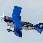 Bill Werth, of Indianapolis, the son of a retired Air Force colonel and pilot, grew up around flying and watching airshows. Now he performs in them as an aerobatic stunt pilot.