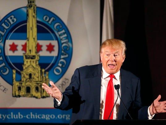 Trump gets dumped
