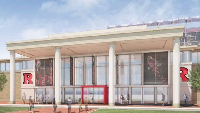 The new-look Hale Center in a rendering.