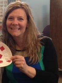 Millbury Library Director Ann Dallair